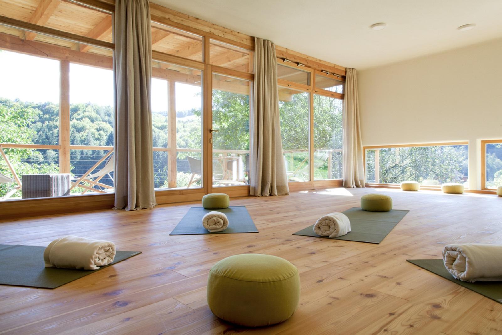 Unser Haus der Stille: Yoga- und Meditationsraum