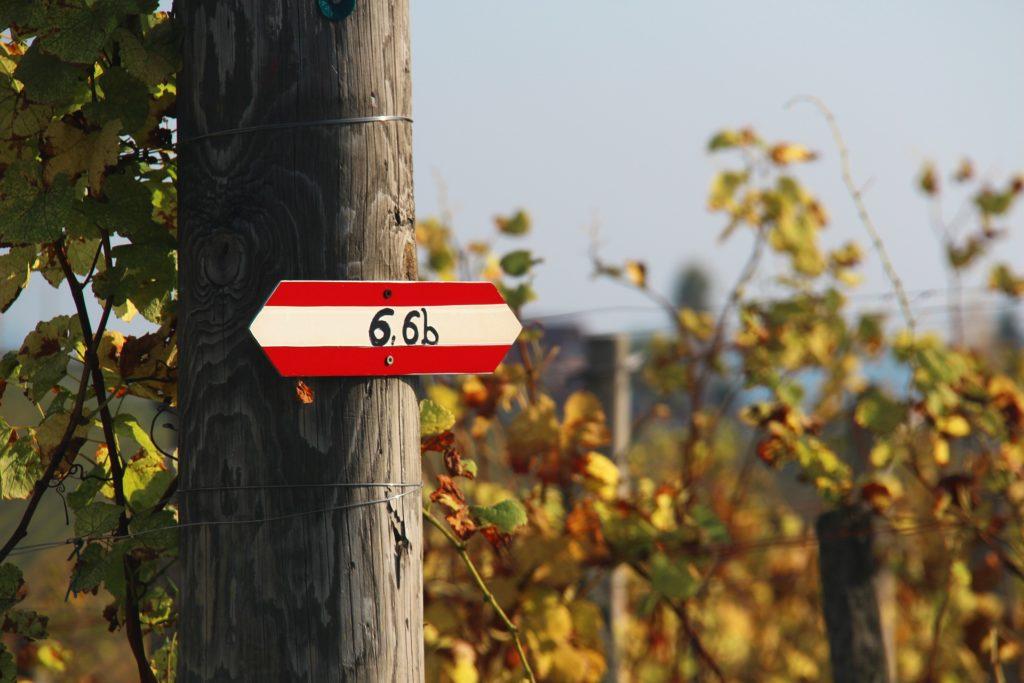 Wandern im Naturpark Südsteiermark, Wanderwege Beschreibung rot-weiß-rot
